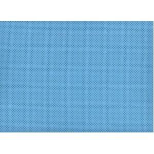 Moosgummi modrá, puntíčky 30 x 40 cm