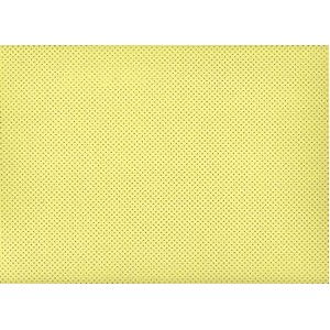 Moosgummi žlutá, puntíčky 30 x 40 cm