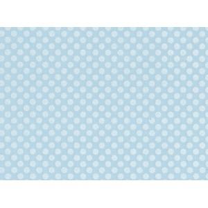 Moosgummi modrá, puntíky 30 x 40 cm