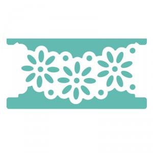 Raznice bordura květinková, 50mm