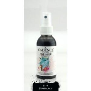 Barva na textil ve spreji 100 ml - Black