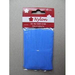 Nylon 60 cm, středně modrý