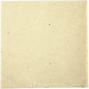 Morušový papír 20 x 20 cm, přírodní barva