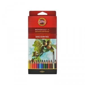 Akvarelové pastelky 24 ks