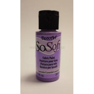 Barva na textil 29,6 ml - Lavender