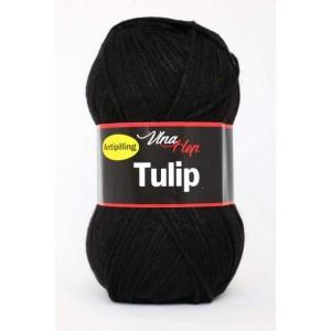 Vlna Tulip - černá