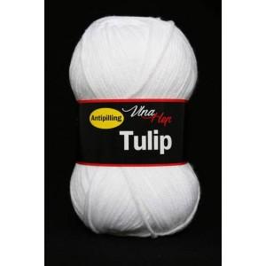 Vlna Tulip - bílá