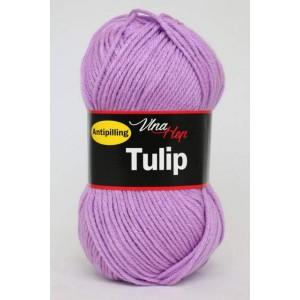 Vlna Tulip - světle fialová