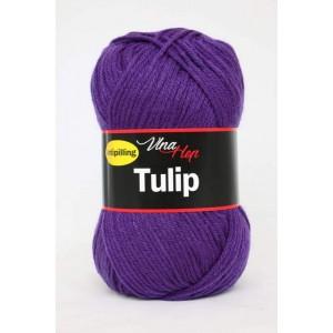 Vlna Tulip - tmavě fialová