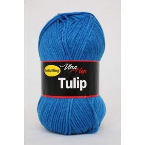 Vlna Tulip - modrá