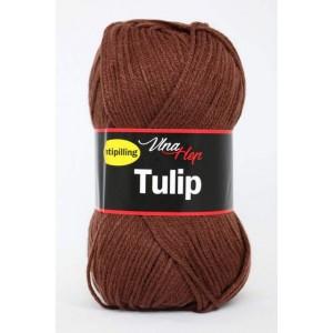 Vlna Tulip - hnědá