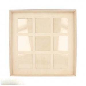 Dřevěný rámeček 32,5 x 32,5 cm