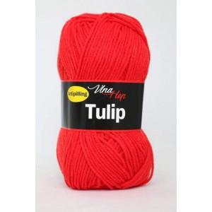 Vlna Tulip - červená
