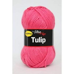 Vlna Tulip -  růžová