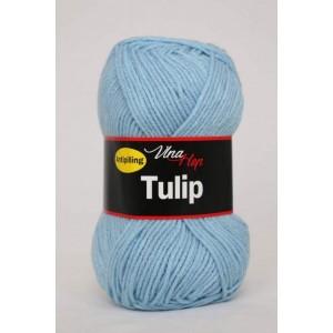 Vlna Tulip -  světle modrá