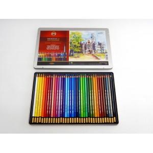 Akvarelové pastelky plech 36 ks