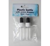 Plastová lahvička - sprej 2 ks