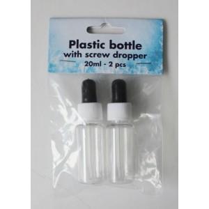 Plastová lahvička s aplikátorem 2 ks