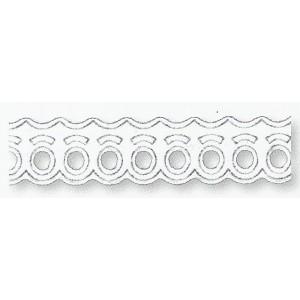 Papírová stuha samolepicí - vlnky