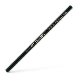 Uhlová tužka Pitt medium černá
