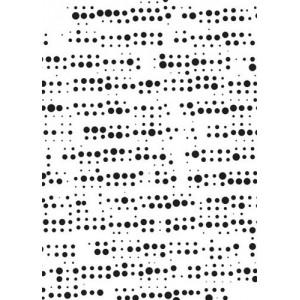 Plastová šablona Vzor 2