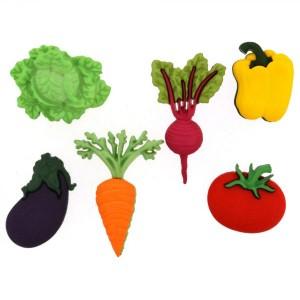 Dekorační knoflíčky Fresh Produce