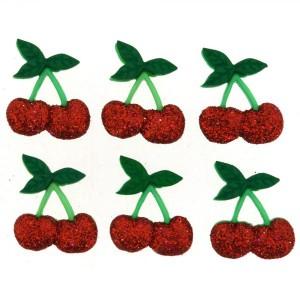 Dekorační knoflíčky Cherries