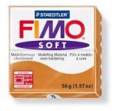 Fimo soft modelovací hmota 56 g - koňaková