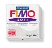 Fimo soft modelovací hmota 56 g - světle šedá
