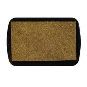 Inkoustový polštářek zlatý