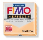 Fimo effect modelovací hmota 56 g - pastelově broskvová