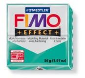 Fimo effect modelovací hmota 56 g - transparentní zelená
