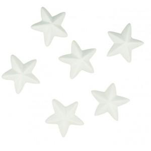 Polystyrenové hvězdičky 6 cm, 6 ks