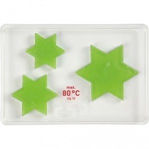 Forma na mýdlo ve tvaru hvězdy