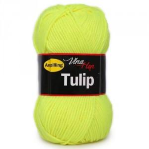 Vlna Tulip - žlutá svítivá