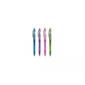 Gumovací pero, 0,7 mm, světle modré