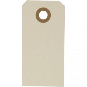 Kartonové visačky 4x8cm, 20 ks