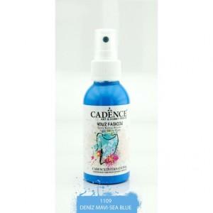 Barva na textil ve spreji 100 ml - Sea Blue