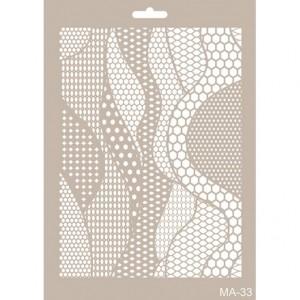 Plastová šablona 21 x 30 cm