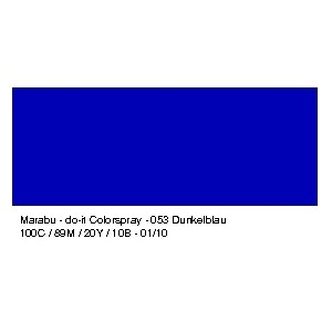 Barva ve spreji, modrá tmavá