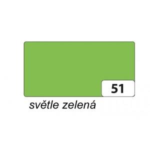 Fotokarton 50 x 70cm, 300g/m2, světle zelená