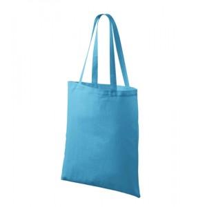 Bavlněná taška 42 x 38 cm, tyrkysová