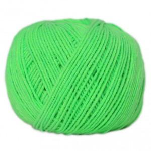 Příze Jeans - Zářivá zelená
