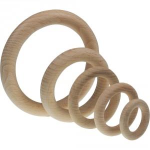 Dřevěný kroužek 56 x 9 mm