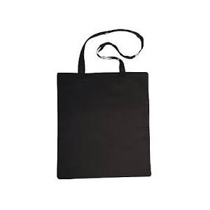 Bavlněná taška 21 x 25 cm, černá