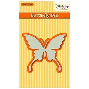 Výsekový nůž - motýl plný