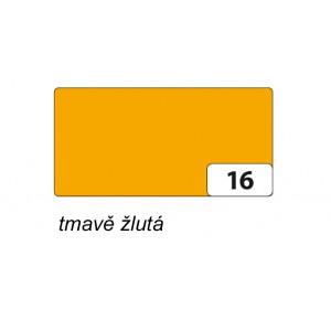 Fotokarton 50 x 70cm, 300g/m2, tmavě žlutá