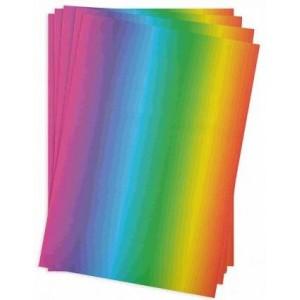 Duhový papír 34 x 24,5 cm