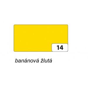 Fotokarton 50 x 70cm, 300g/m2, banánově žlutá