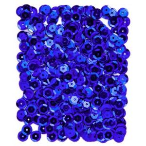 Flitry lámané 9 mm, 15 g - tmavě modré